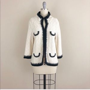 CAbi Socialite Knit Open Front Cardigan